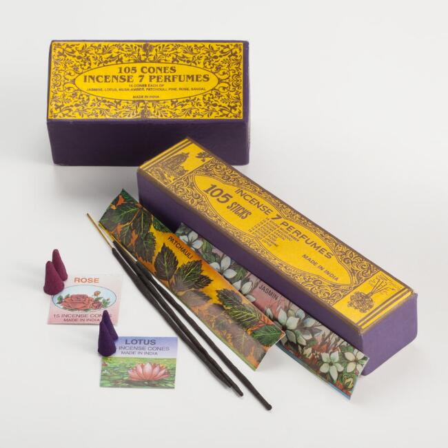 Boxed Indian Incense Collection