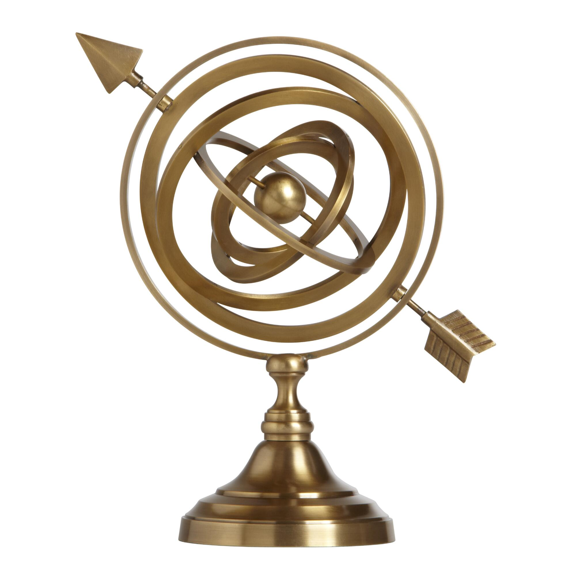 Gold Armillary Sphere - Brass by World Market