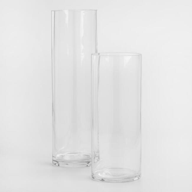 Clear Glass Cylinder Vases World Market