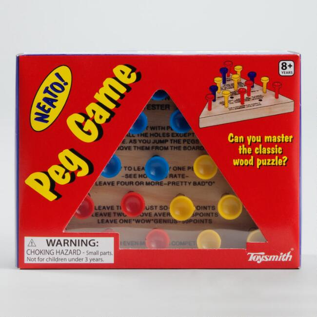 Retro Peg Game