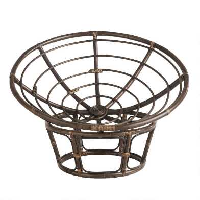 Rattan Papasan Chair Frame