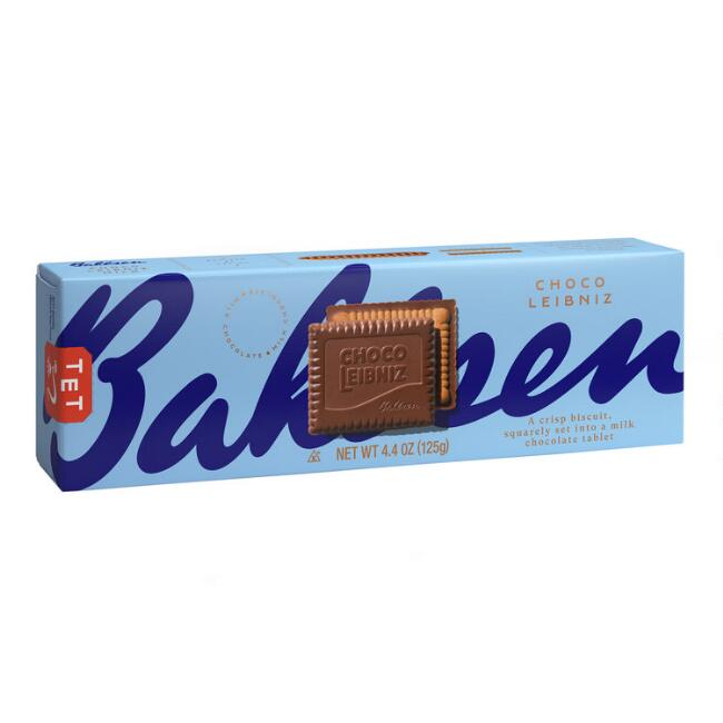 Bahlsen Leibniz Milk Chocolate Cookies
