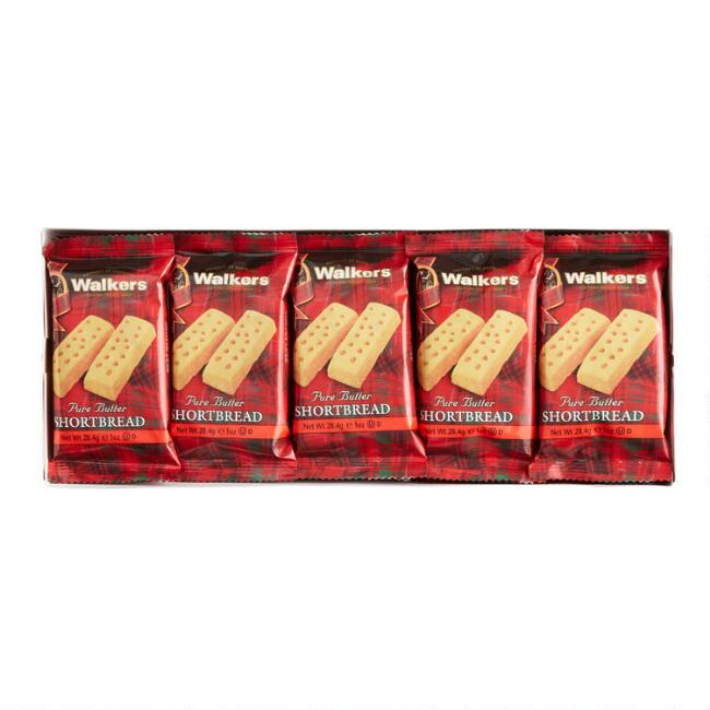 Walkers Shortbread Fingers Snack Size 20 Pack
