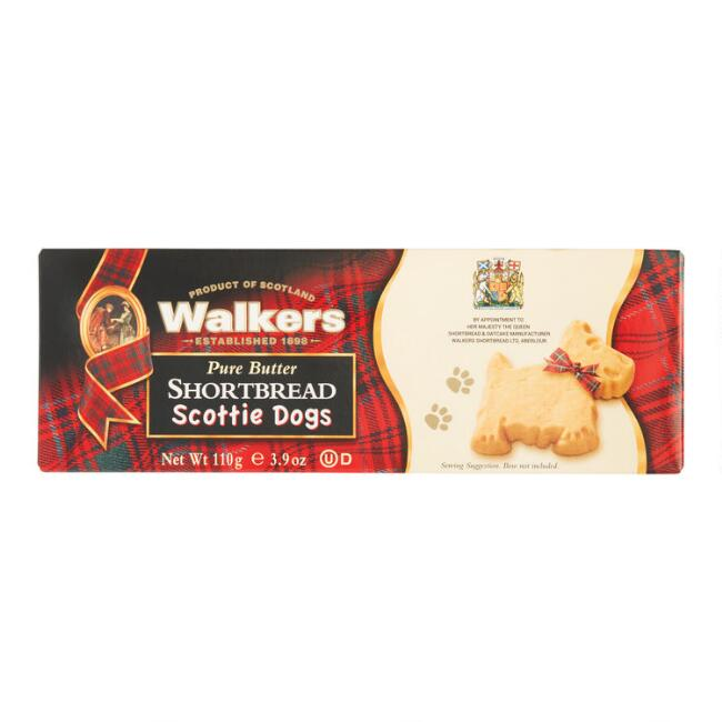 Walkers Shortbread Scottie Dogs Set of 12