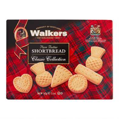 Walkers Assorted Shortbread Set of 12