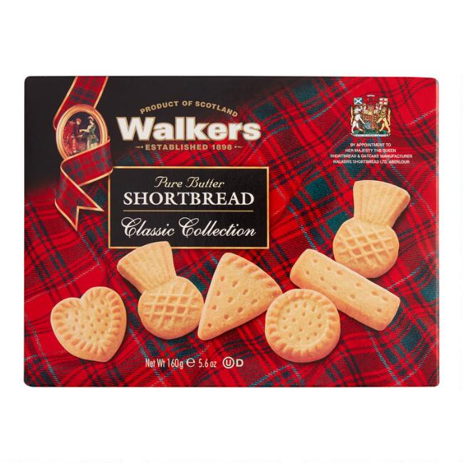 Walkers Mini Assorted Shortbread Set of 12