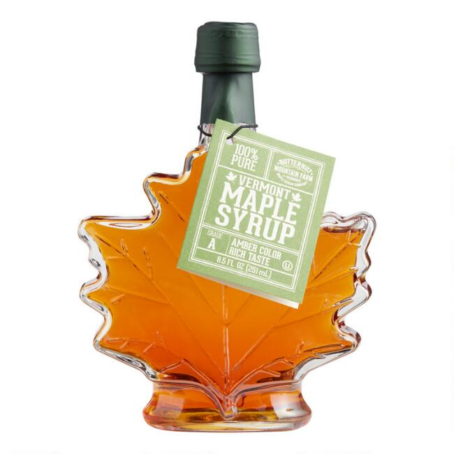 Butternut Mountain Farm Maple Leaf Syrup