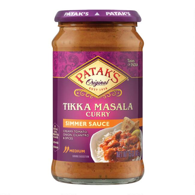 recipe: pataks tikka masala curry sauce [11]