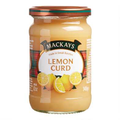 Mackays Lemon Curd Set Of 6