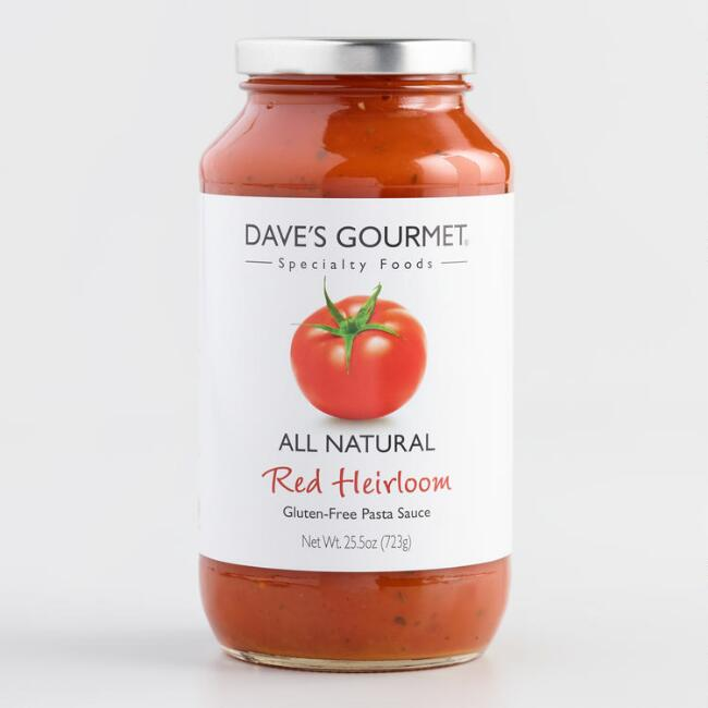 Dave's Gourmet Heirloom Pasta Sauce