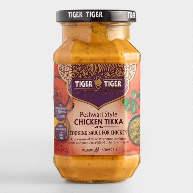 Tiger Tiger Chicken Tikka Cooking Sauce, Set of 6