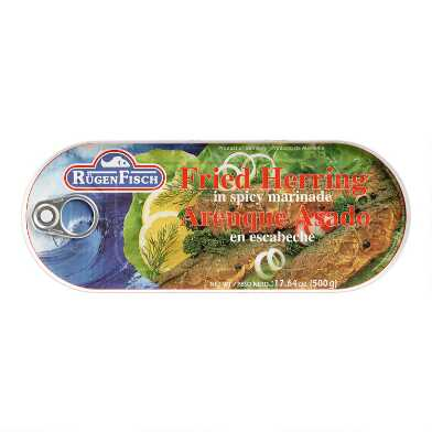 RugenFisch Fried Herring in Spicy Marinade Set Of 6