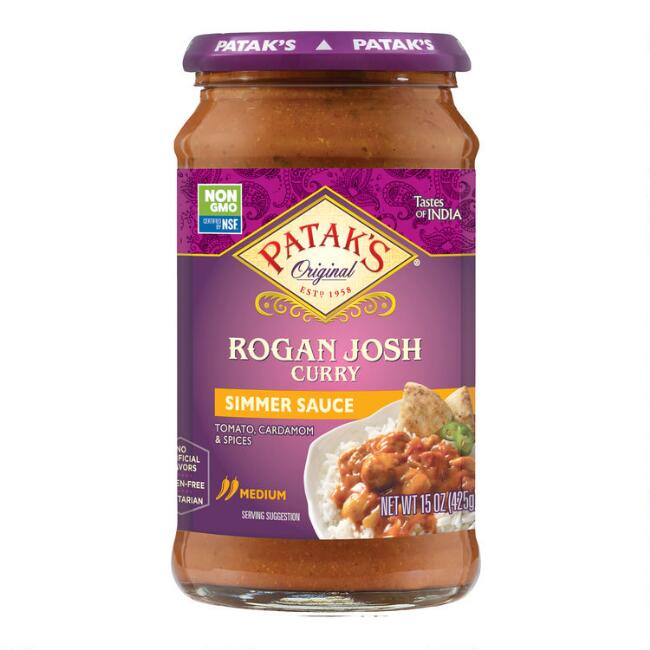 Patak's Rogan Josh Curry Simmer Sauce Set Of 6