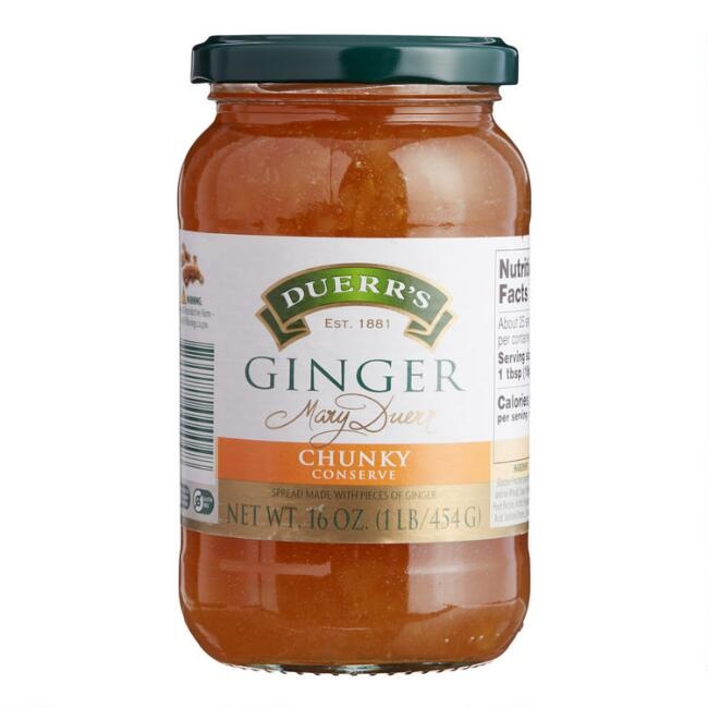 Duerr's Ginger Preserves, Set of 6