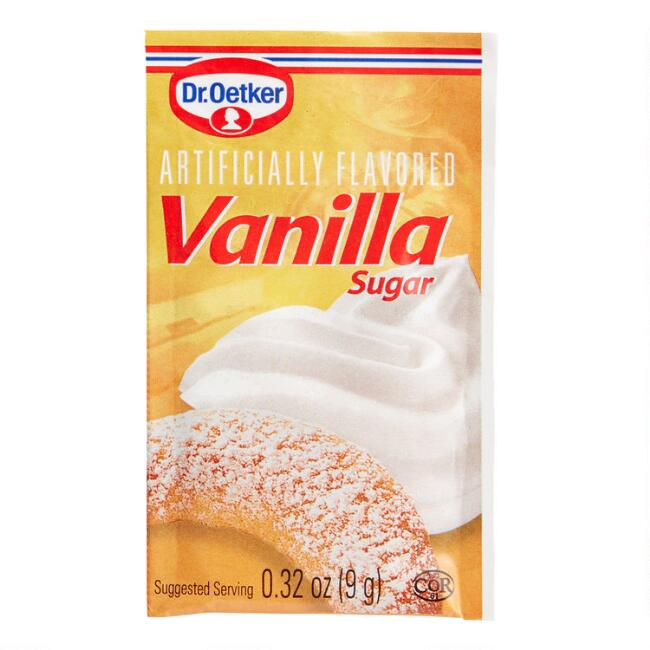 2 Pack Dr. Oetker Vanilla Sugar Set Of 4