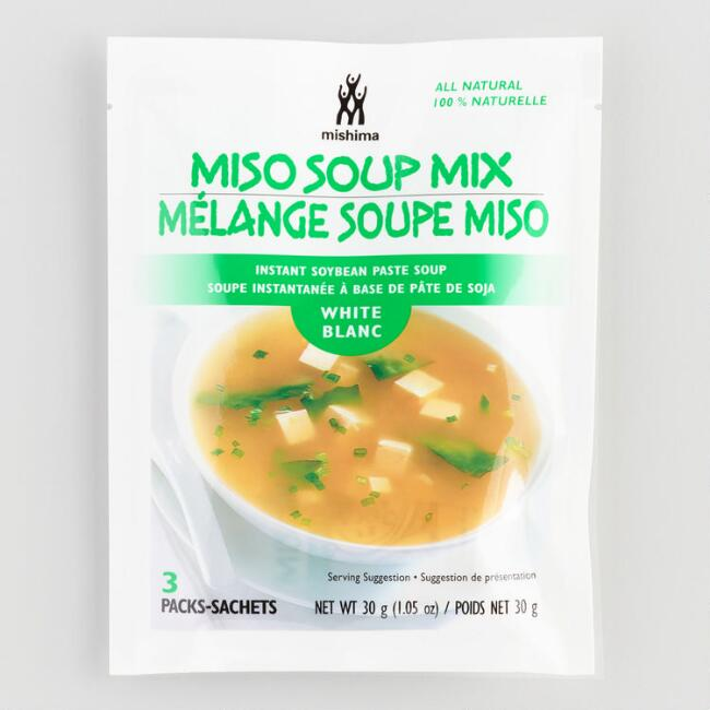 Mishima White Miso Soup, Set of 12