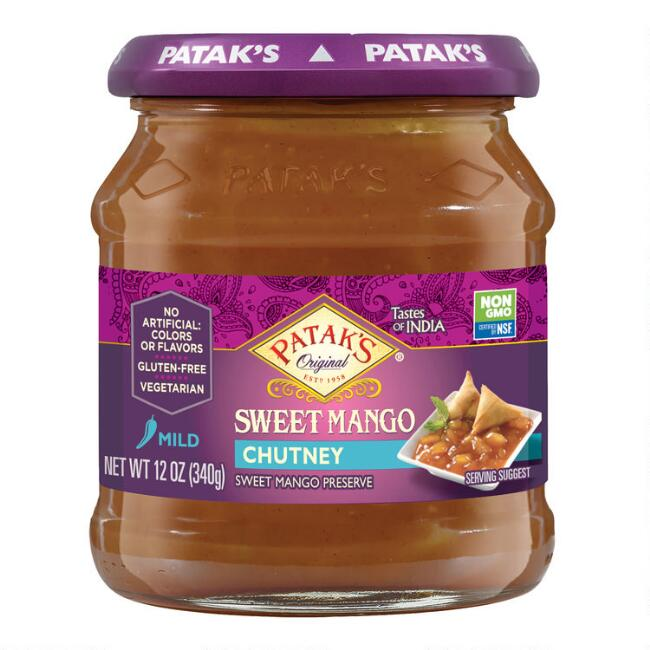 Patak's Sweet Mango Chutney Set Of 6