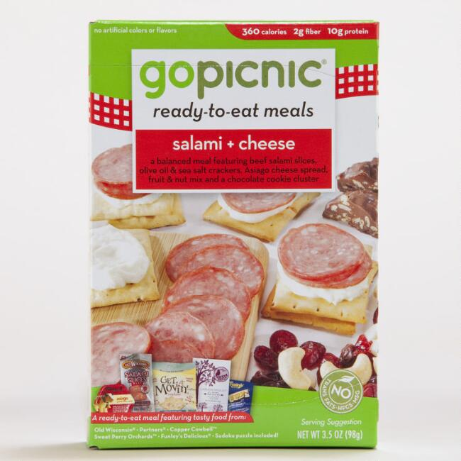 Go Picnic Salami and Cheese
