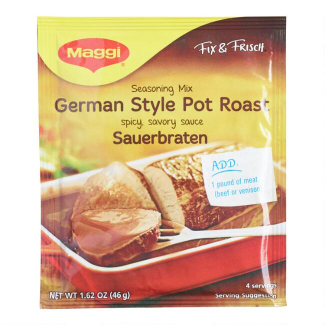 Maggi Pot Roast Seasoning, Set of 17