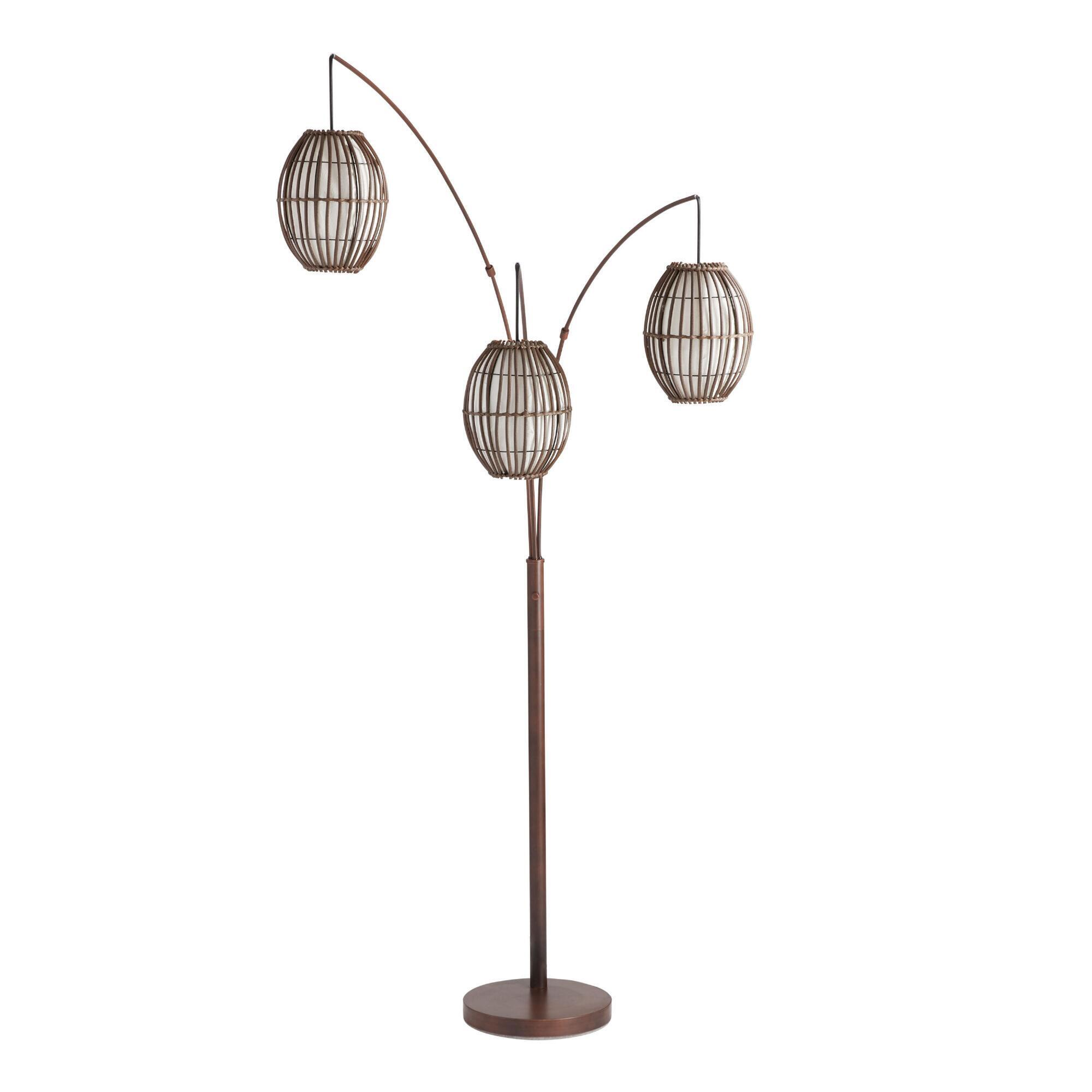 free light garden floor lighting shipping product safavieh inch reflections home ball today floors stacked lamp overstock