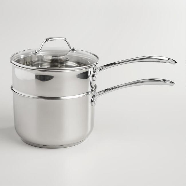 Stainless Steel 2-Tier Steamer