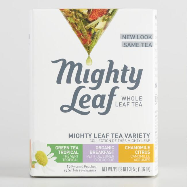 Mighty Leaf Tea Variety Box, 15-Count