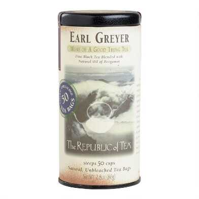 The Republic Of Tea Earl Greyer Tea 50 Count