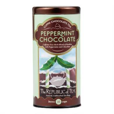 The Republic of Tea Peppermint Chocolate Tea, 36-Count