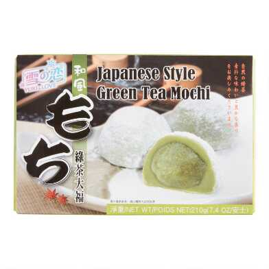 Yuki & Love Green Tea Mochi Set Of 6