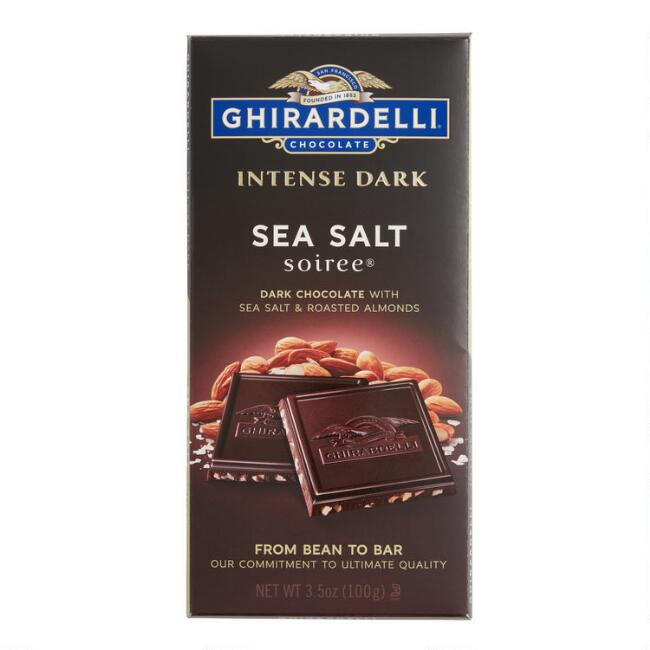 Ghirardelli Intense Dark Sea Salt Soiree Chocolate Bar