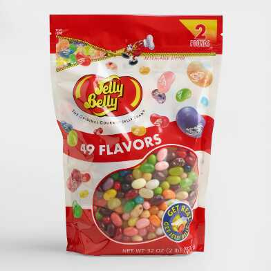 Jelly Belly 49 Flavor Jelly Beans 2lb Bag