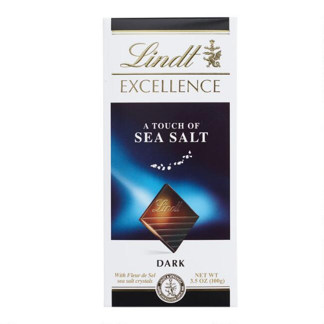 Lindt Excellence A Touch of Sea Salt Bar