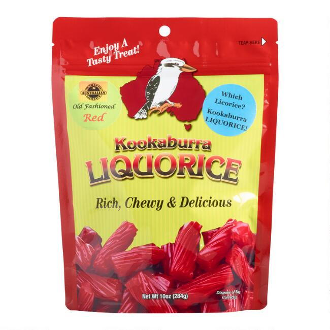 Kookaburra Classic Strawberry Licorice Set of 4