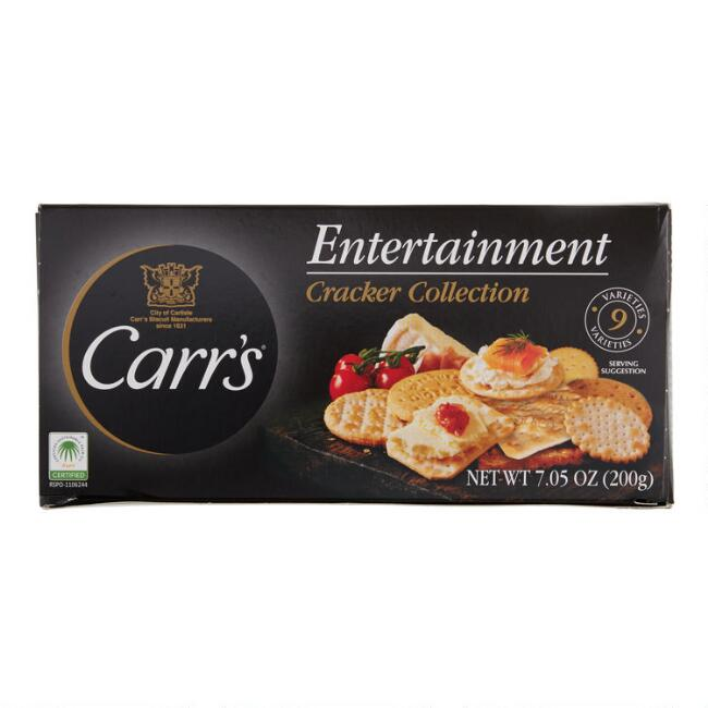 Carr's Entertainment Crackers Collection