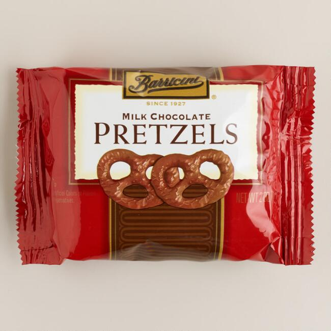 Barricini Milk Chocolate Pretzels
