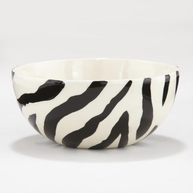 Kids Zebra Surprise Bowl