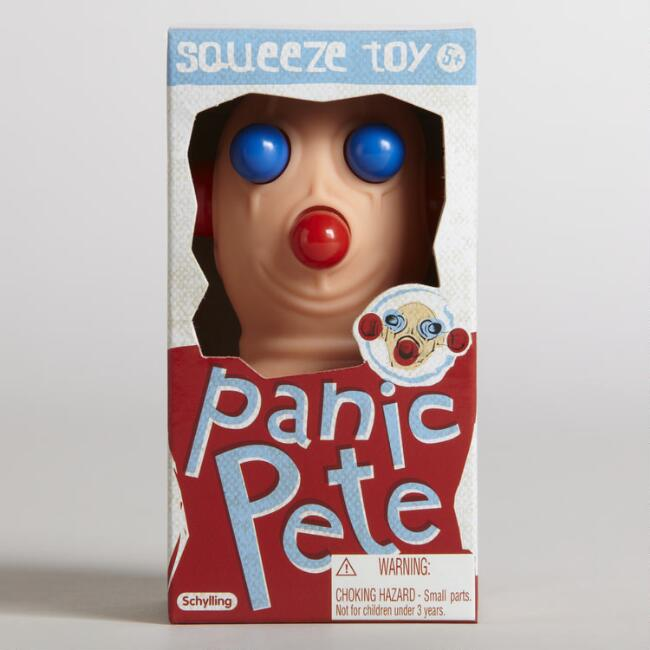 Panic Pete Squeeze Toy