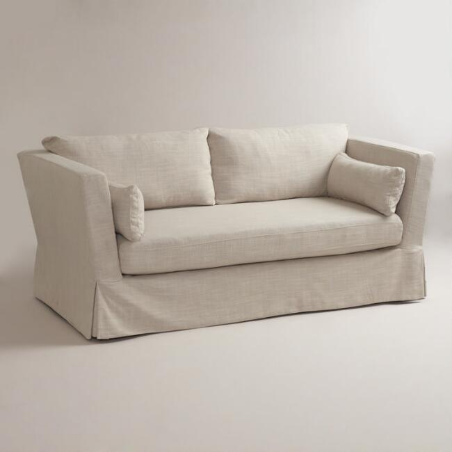 Linen Crosby Sofa Slipcover