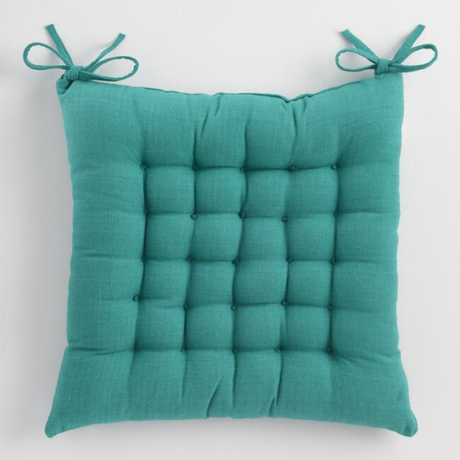 Teal Blue Dasutti Chair Cushion