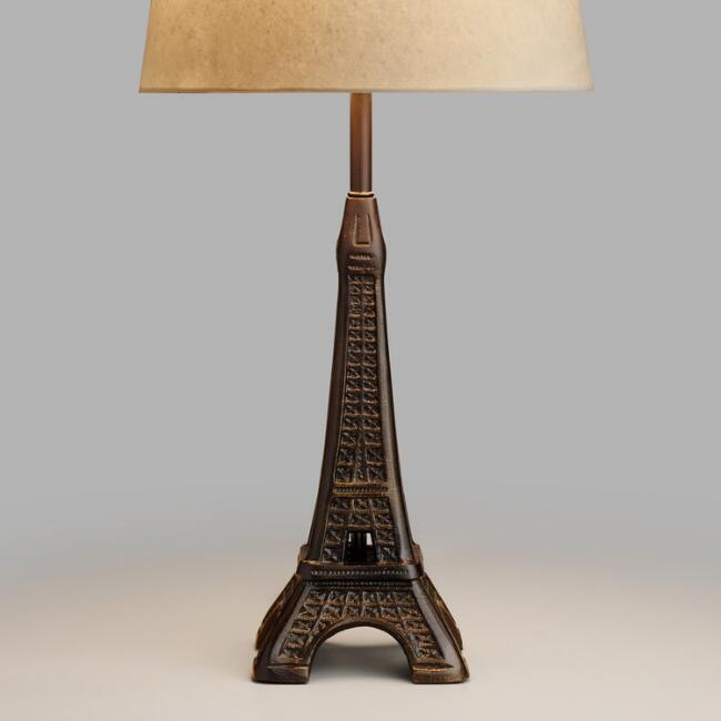 Eiffel Tower Accent Lamp Base