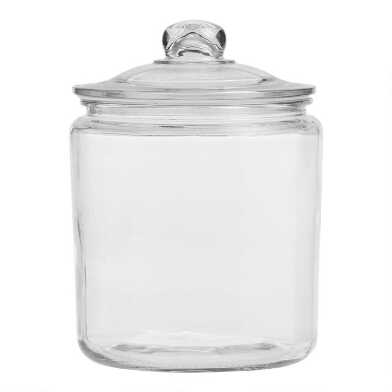 One-Gallon Glass Storage Jar