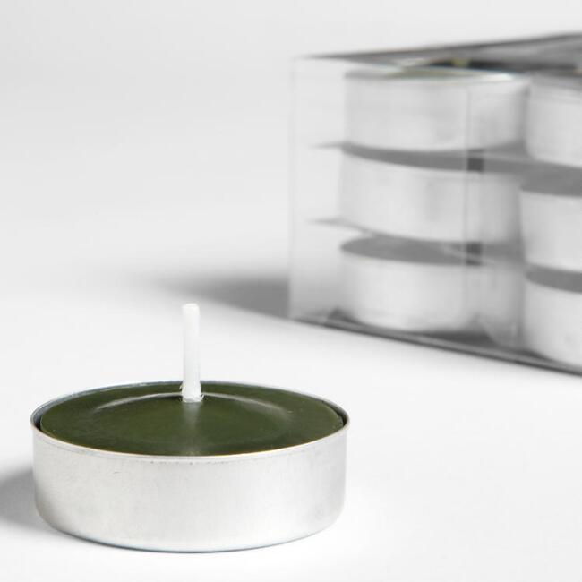 China Pear Tealight Candles 12-Pack