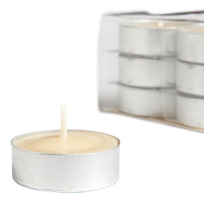 Indian Sandalwood Tealight Candles 12-Pack