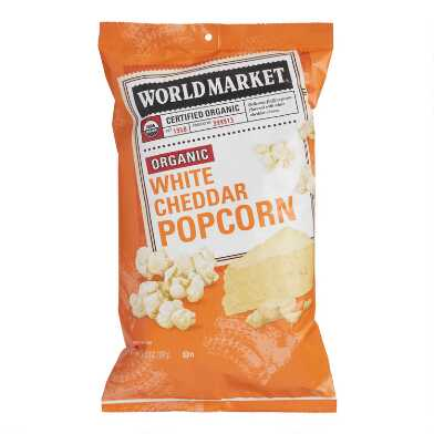 World Market® Organic White Cheddar Popcorn Set of 12