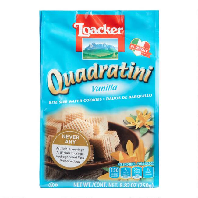 Loacker Quadratini Vanilla Wafers