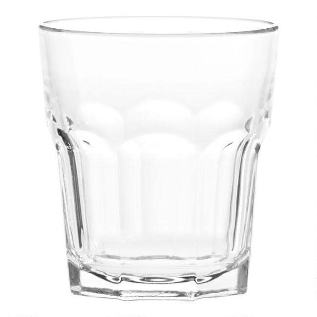 Gibraltar Double Old Fashioned Glasses Set of 4