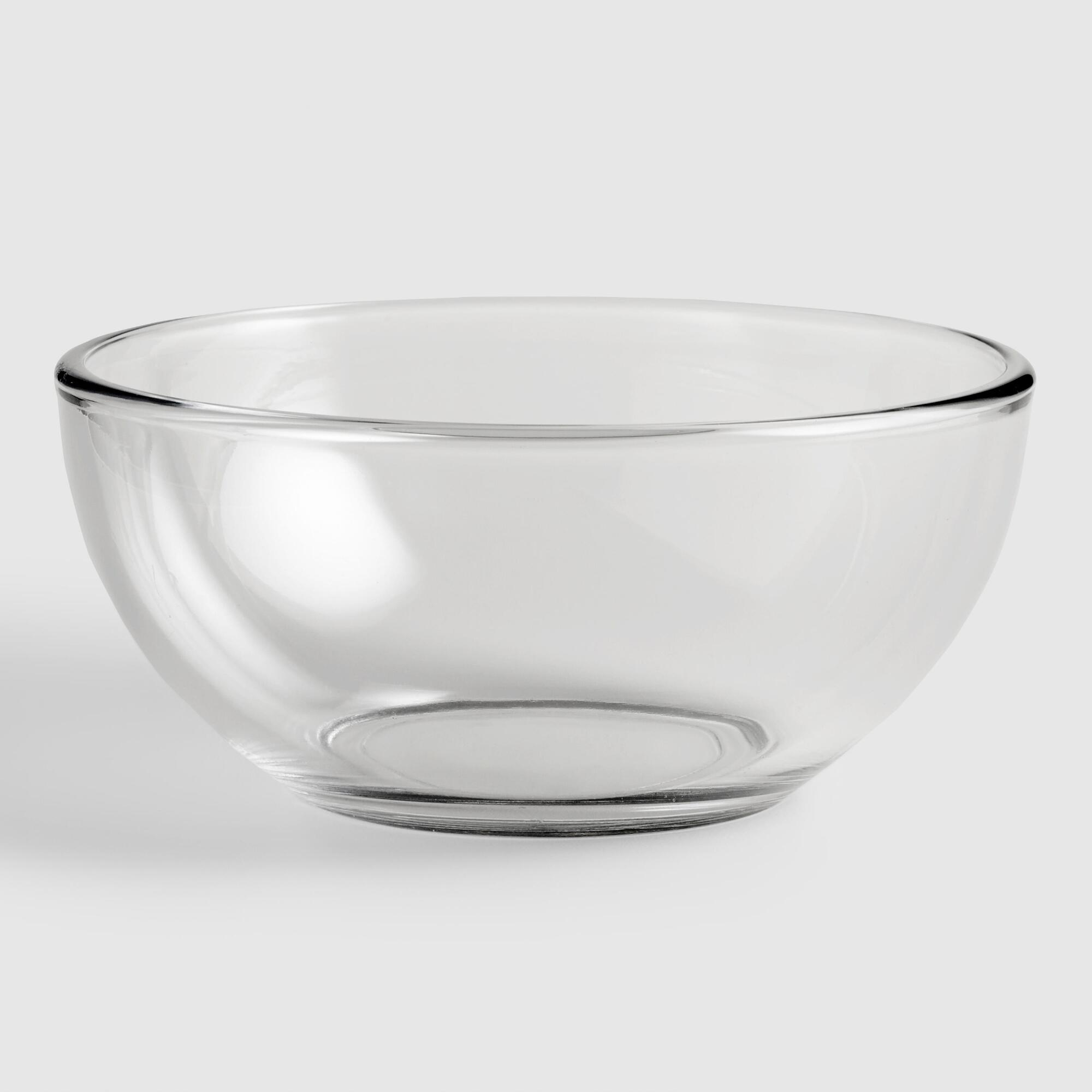 Glass Moderno Bowls, set of 4 by World Market