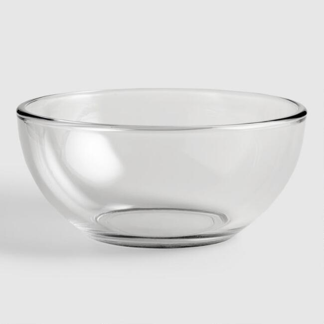 Glass Moderno Bowls, set of 4