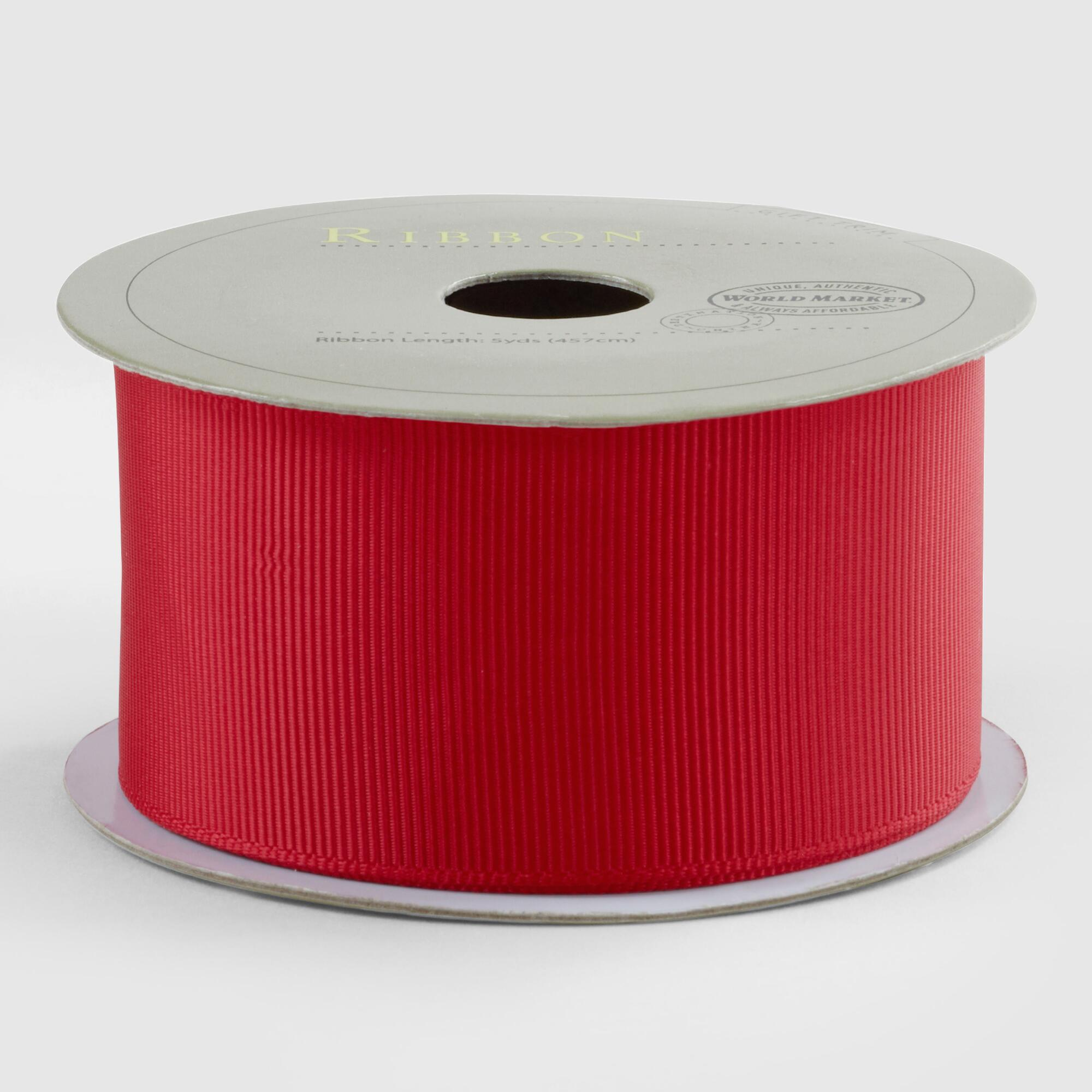 Red Grosgrain Ribbon by World Market