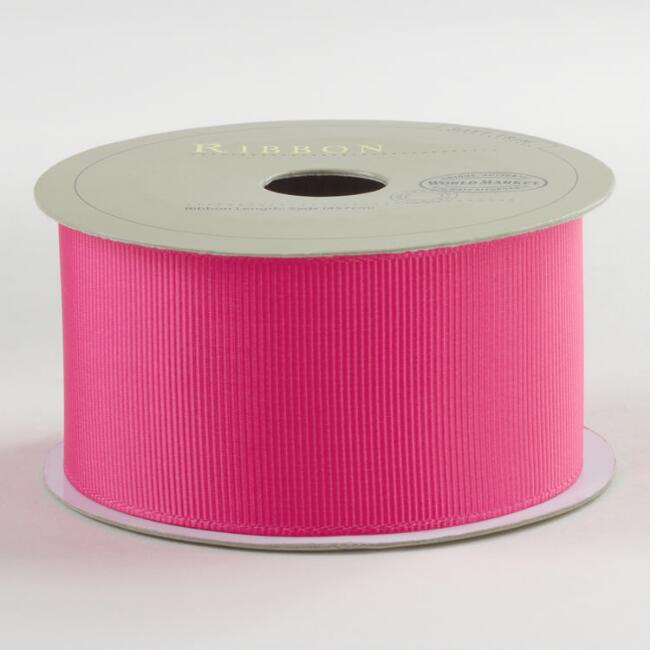 Virtual Pink Grosgrain Ribbon